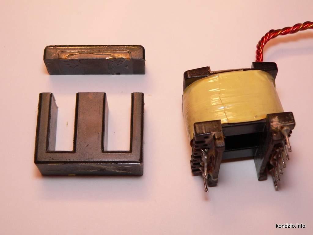 transformator impulsowy, rdzeń EI 33